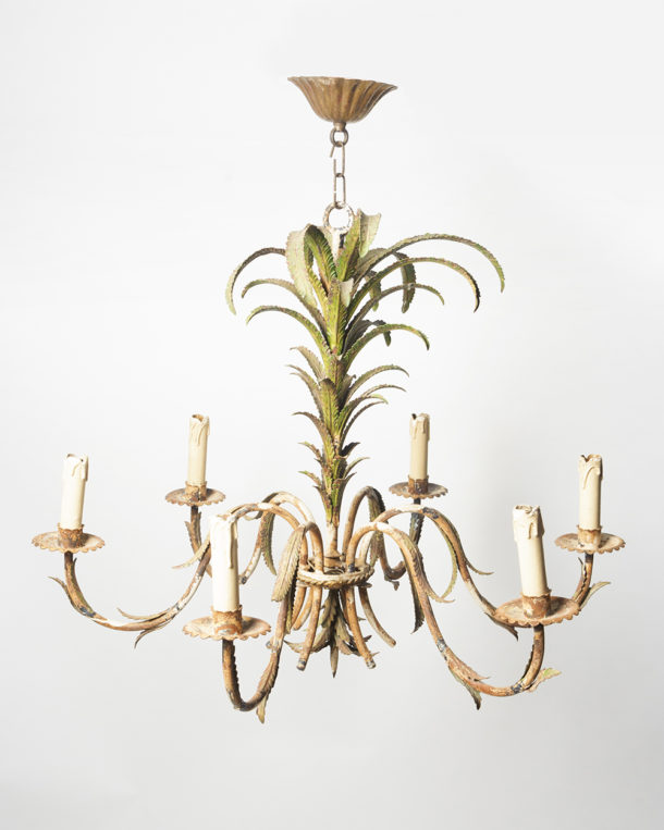 - Antique French Tole Chandelier Nikki Page Antiques